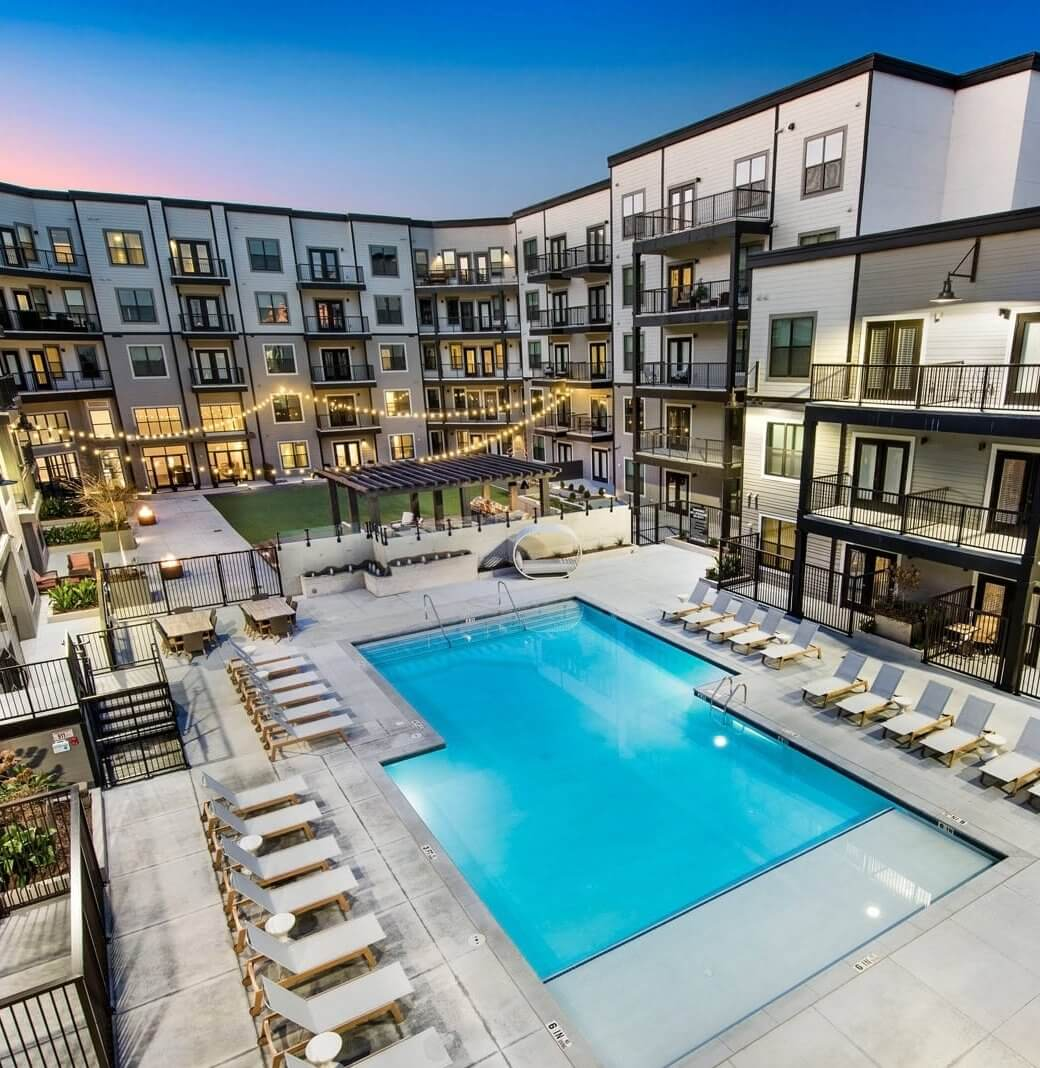 Second Chance Apartment Pool